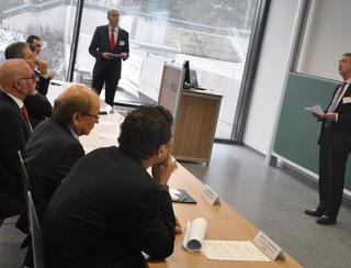 Staatssekretär des Ministeriums für Wirtschaft, Energie, Industrie, Mittelstand und Handwerk des Landes NRW, Dr. Günther Horzetzky
