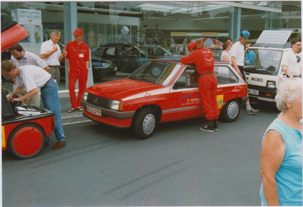 Opel Corsa E 1992 bei der Tour de Ruhr