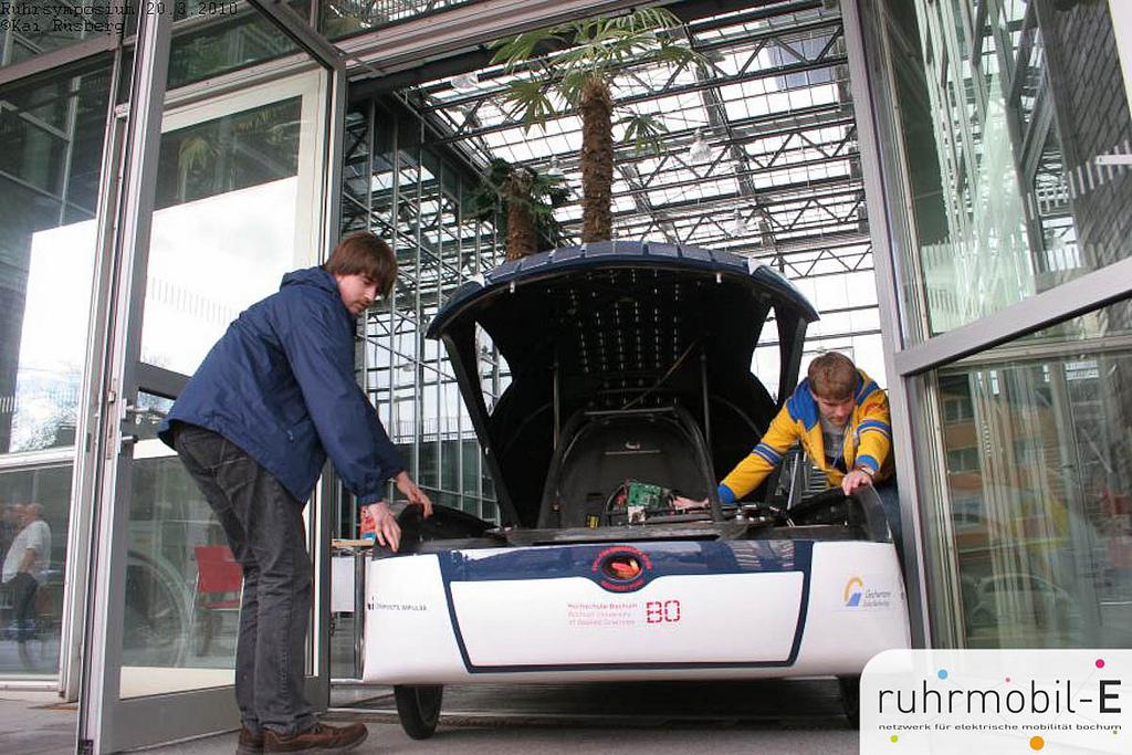 SolarWorld No. 2 war der BO-Cruizer - Zweisitzer für die Solarchallenge in Australien