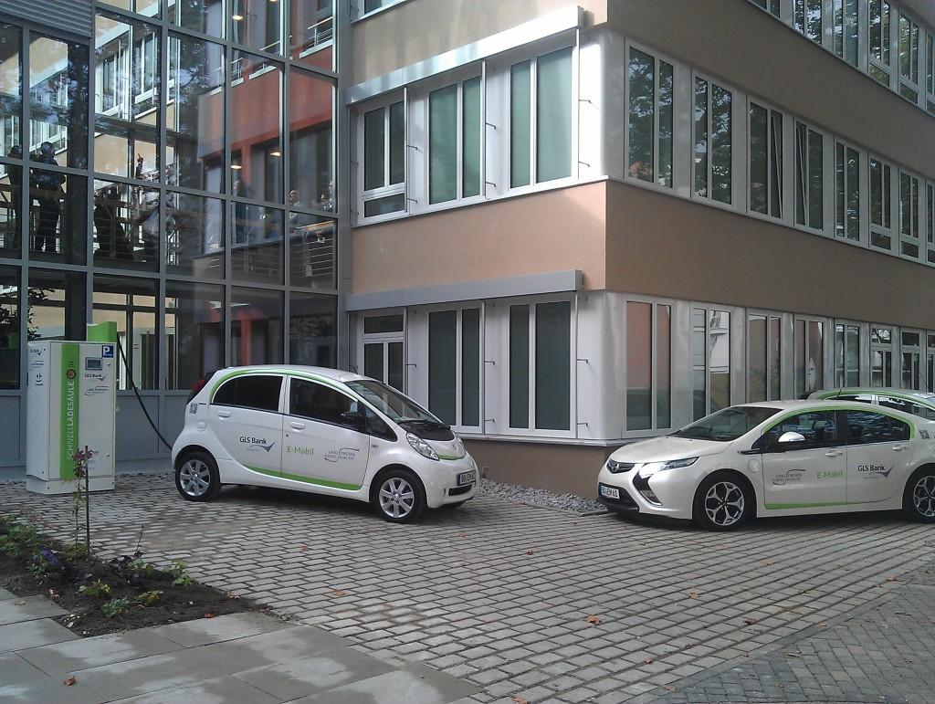 iOn und Ampera der GLS-Bank von Rüschkamp (Partner im LEM-Projekt