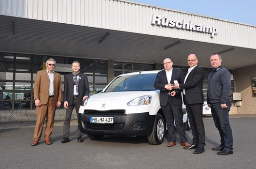Der erste neue Partner Électric geht nach Bremen an Move about.