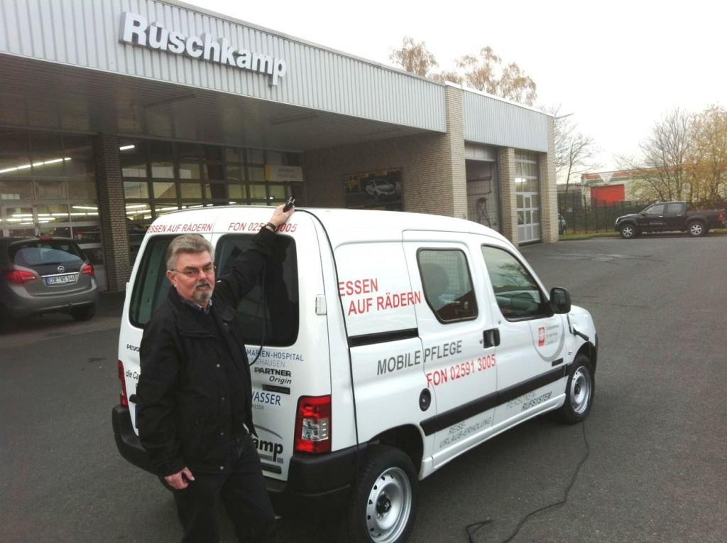 Peugeot Partner Venturi Electric mit ZEBRA-Batterien