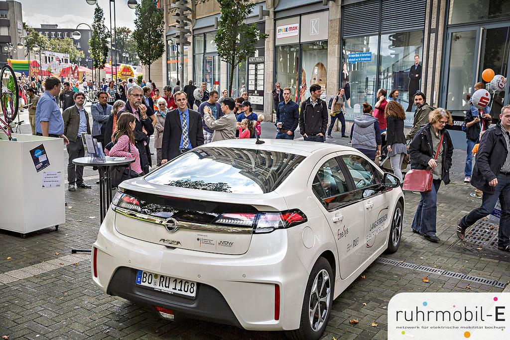 Opel Ampera aus dem Bochumer LEM-Projekt