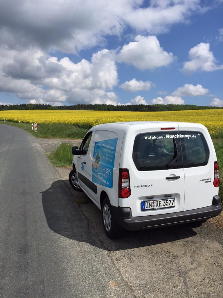 Langstrecke mit Elektroauto - eine spannende Erfahrung für unseren Arne Grahl.