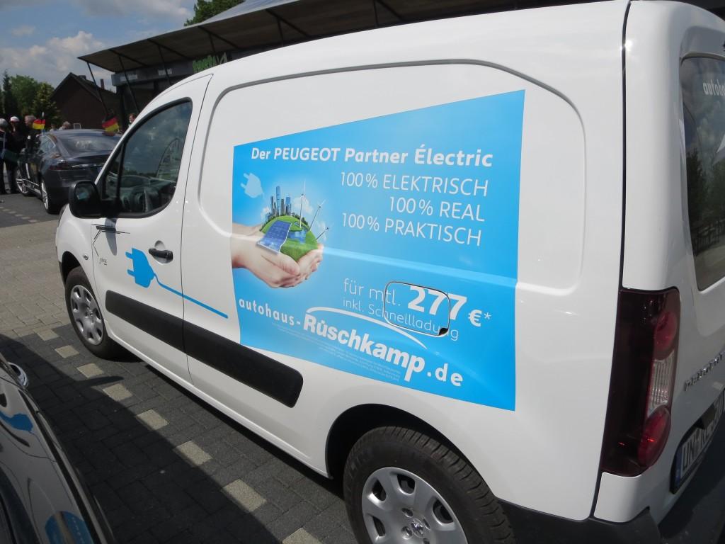 Peugeot Partner Electric vom Autohaus Rüschkamp