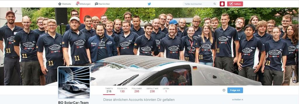 Wir verfolgen gespannt die Erfolge des Teams und folgen ihm auch auf Twitter.