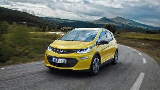 Der Ampera-e hat eine Reichweite von über 400 Kilometer © Opel