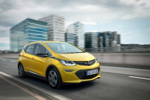 Best in class: The Opel Ampera-e boasts at least 25 percent more range than the closest competitor.